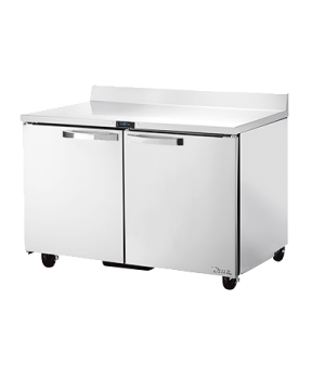 Spec Series Work Top Freezer, two-section, -10° F, SPEC Package 1 includes: (sta