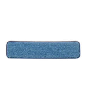 "Hygen™ Wet Room Pad, 24"", microfiber, blue"