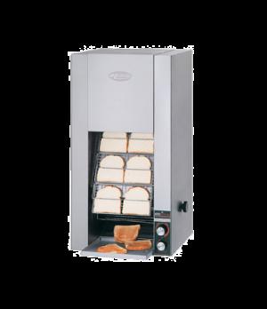 Toast King® Conveyor Toaster, vertical conveyor, countertop design, bread and bu