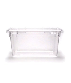"Camwear® Food Storage Container, 12"" x 18"" x 9"", 4.75 gallon capacity, clear, po"
