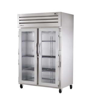 SPEC SERIES® Refrigerator, Reach-in, two-section, stainless steel front/sides, (