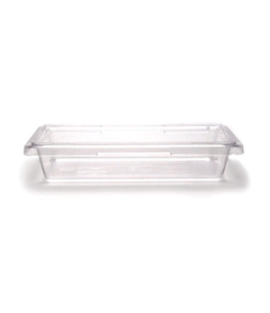 "Camwear® Food Storage Container, 12"" x 18"" x 3-1/2"", 1.75 gallon capacity, clear"