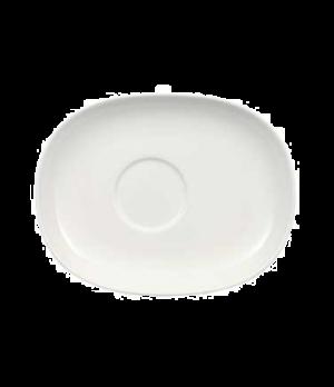 "Saucer, 7-5/8"" x 5-7/8"", premium porcelain, Urban Nature"