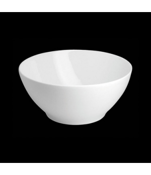 "Salad Bowl, 66 oz., 8-1/4"" dia. x 3-3/4""H, round, porcelain, Tria, Wish (minimum"