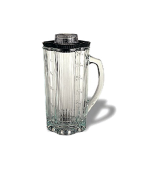 Blender Container, with lid, 32 oz., glass, for 700, 7011, 7012, CB10B, CB10BT,