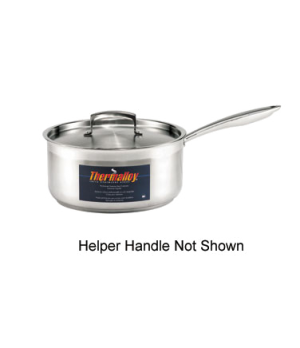 "Thermalloy® Sauce Pan, 7.6 qt., 9-1/2"" x 6-1/4"", without cover, helper handle,"