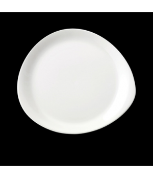"Plate, 12"" dia., round, freezer/microwave/dishwasher safe, lifetime edge chip wa"