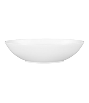 "Jasper Conran Serving Dish, 12"", oval, dishwasher safe, bone china, white"