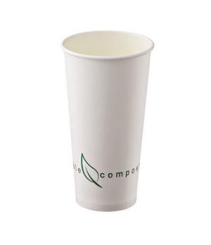 Disposable Cup, 19.9 oz. (590 ml), (9.0 x 15.9 cm), biodegradable/compostable, P