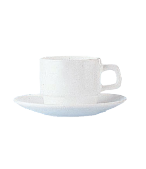 "Cup, 8 oz., 2-3/4""H, fully tempered, microwave safe, glass, Arcoroc, Opal®, Rest"