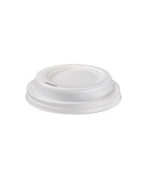 Disposable Cup Lid, (7.3 cm), for disposable cup (Q3001), biodegradable/composta