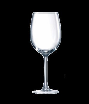 """Wine Glass, 16 oz., glass, Marque Du Client, Connoisseur, (H 8-3/4""""; M 3-7/16"""")"""