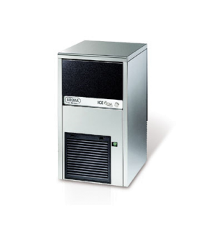 Brema Undercounter Ice Maker, air-cooled, self-contained, cube style, 20 lb. sto