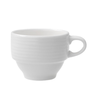 Cup #8, 2-3/4 oz., stackable, premium porcelain, Sedona