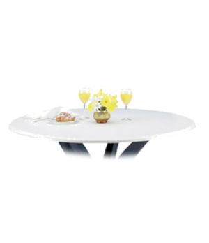 """Indoor/Outdoor Table Top, 48"""" round, with umbrella hole, burn, stain, heat & scr"""