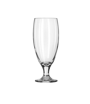 Pilsner Glass, 16 oz., Safedge® Rim and foot guarantee, one piece construction,