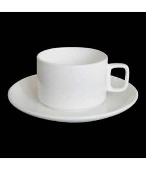 "Can Coffee Cup, 7 oz., 4-1/4""W x 2-1/8""H, bone china, Tria (minimum = case quant"