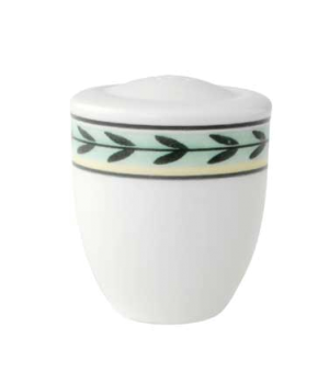"Salt Shaker, 2-1/8"", premium porcelain, French Garden-Dampierre"