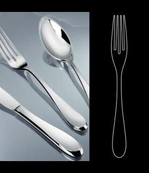 "Dessert Fork, 7-1/2"", stainless steel, La Tavola, Premiere (USA stock item) (min"