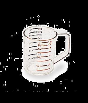Bouncer® Measuring Cup, 1 cup, -40°F/-40°C to 212° F/100°C temp. range, measurem