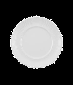 "Plate, 6-2/3"", flat, premium porcelain, Marchesi-Sedona"