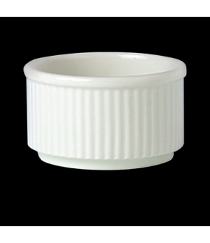 "Ramekin, 5-1/2 oz., 3-1/4"" x 1-7/8"", large, unhandled, vitrified ceramic, Perfor"
