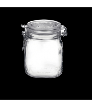 Jar, 29 oz., clear, Bormioli, Fido (USA stock item) (minimum = case quantity)