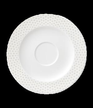 """Saucer, 6-5/8"""" (16.8cm), salamander/microwave/dishwasher safe, premium porcelain"""