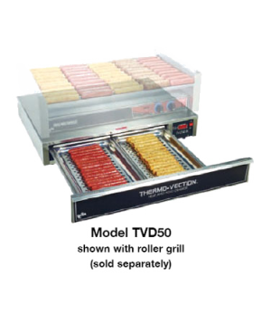 """Thermo-Vection™ Heat & Hold Drawer, countertop, (1) 1-1/2"""" deep stainless steel"""