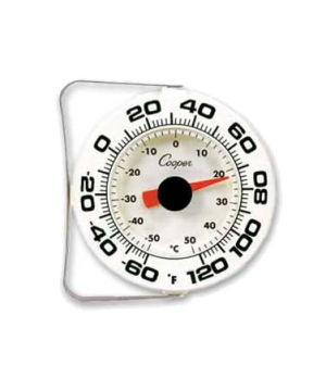 Wall Thermometer, medium for storage areas, refrigerators and walk-in freezers,