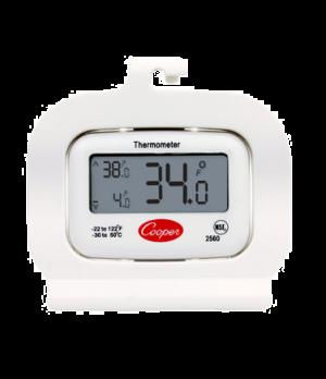 Refrigerator/Freezer Thermometer, digital, temperature range: -22° to 122°F (-30