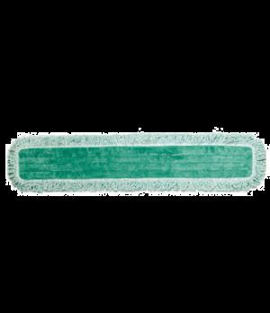 "Hygen™ Dust Pad with Fringe, 36"", microfiber, green"