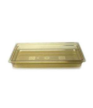 "H-Pan™, full size, 2-1/2"" deep, hi-temp plastic, polysulfone, non-stick surface,"