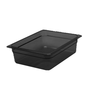 "H-Pan™, 1/2 size, 4"" deep, hi-temp plastic, polysulfone, non-stick surface, won'"