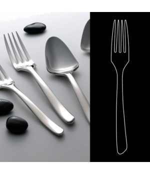"""Table Fork, 8-1/4"""", 18/10 stainless steel, WNK, Tuscany (USA stock item) (minimu"""