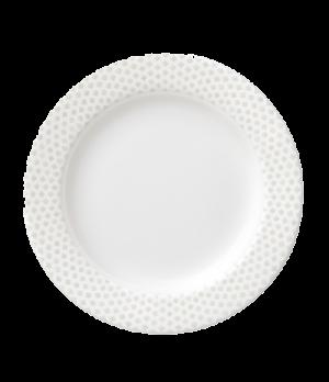 """Plate, 6-1/4"""" (16cm), flat, salamander/microwave/dishwasher safe, premium porcel"""