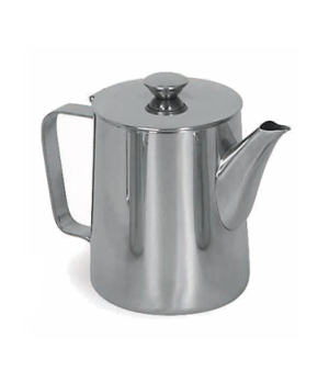 Contemporary Pot, 70 oz., 18/8 stainless steel