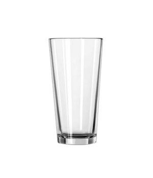"Cooler Glass, 22 oz., DuraTuff®, Restaurant Basics (H 7""; T 3-5/8""; B 2-1/2""; D"