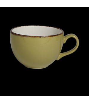 Cup, 12 oz., low, vitrified china, Performance, Terramesa, olive (USA stock item