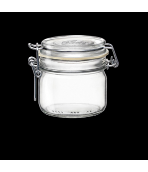 Jar, 7-3/4 oz., clear, Bormioli, Fido (USA stock item) (minimum = case quantity)