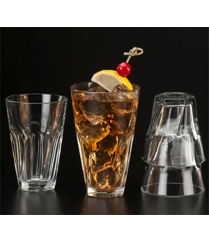 "Twist Rocks Glass, 7 oz., DuraTuff®, GIBRALTAR® (H 3-3/8""; D 3-1/4"")"