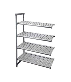 """Camshelving® Elements Add-On Unit, 24""""W x 36""""L x 72""""H, withstands temperatures f"""