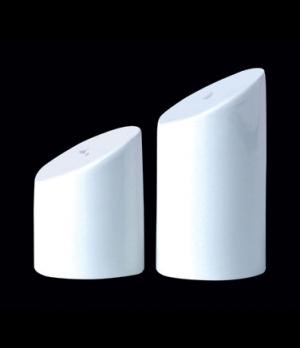 Salt Shaker, Distinction, Sheer, Monaco White (USA stock item) (minimum = case q