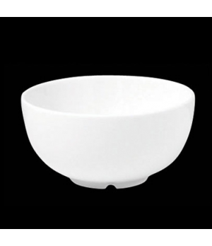 "Rice Bowl, 10-1/2 oz., 4-3/8"" dia X 2-1/4""H, round, porcelain, Tria, Simple Plus"