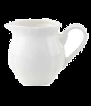 Creamer #6, 3-1/2 oz., premium porcelain, La Scala