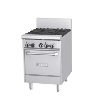 "GF Starfire Pro Series Restaurant Range, gas, 24"", (2 26,000 BTU open burners, w"