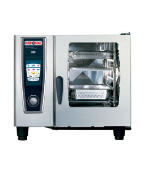 Rational SelfCooking Center® WhiteEfficiency® 61, half-size, electric, SelfCooki