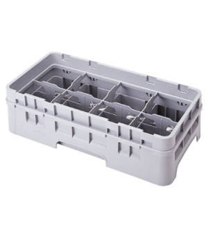 "Half Drop Extender, half size, 8-compartment, 19-3/4"" x 10"" x 2"", adds 1-5/8"" to"