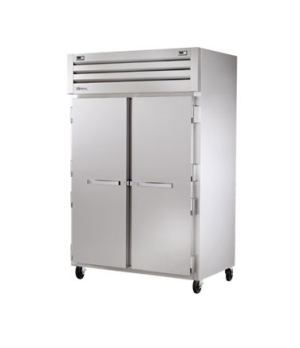 SPEC SERIES® Refrigerator/Freezer, Reach-in, two-section, stainless steel front