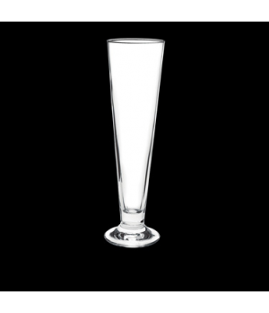 "Beer Pilsner Glass, 18-1/2 oz., 3"" x 11"", crystal, non-lead, Bormioli, Palladio"
